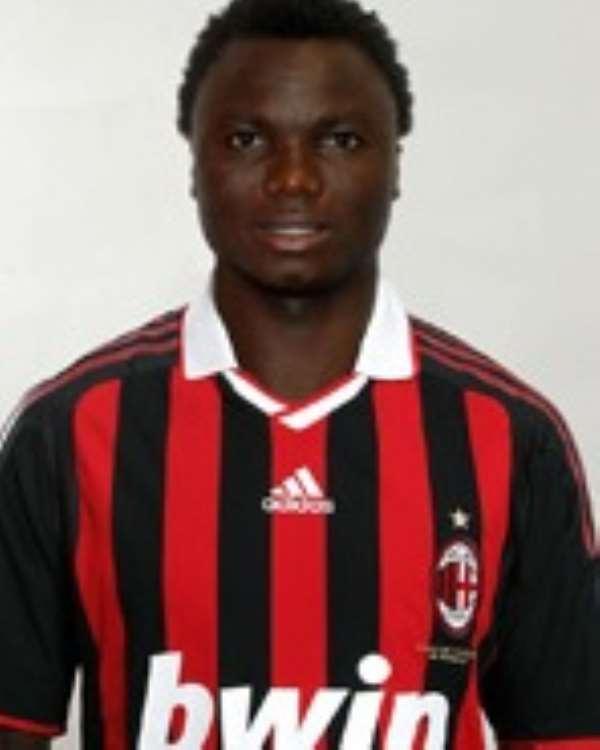 Adiyiah joined AC Milan late last year