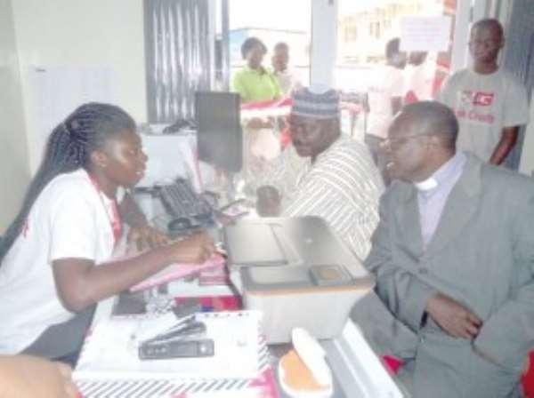 Brisk Credit opens bank at Nkawkaw