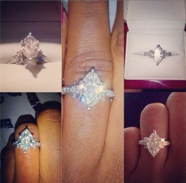 'Wow I can stare at my finger all day' Jude Okoye Fiance Flaunts Her Engagement Ring