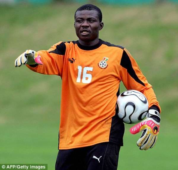 George Owu: Veteran goalkeeper plans to coach after hanging gloves