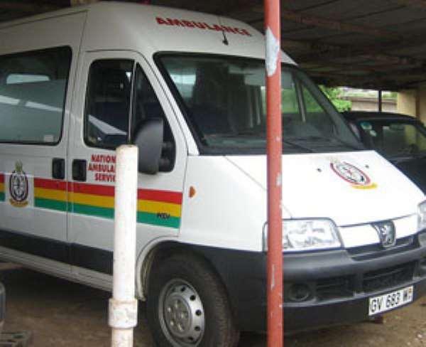 A Ghana Of 55 Ambulances Is Over