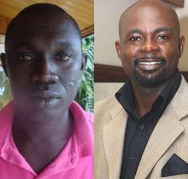 Isaac Adjei Nsenkyire aka 'Odenke' annd Hon Collins Amankwah