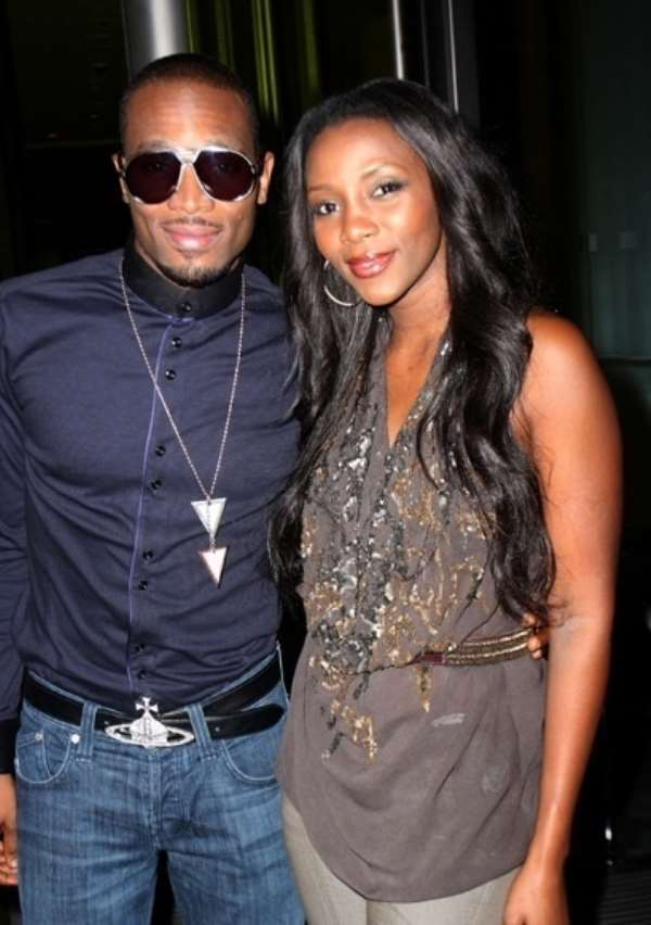 """D'Banj claims he and Genevieve Nnaji are """"just very good friends"""" [Video Interview]"""