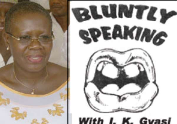 Ms. Akua Sena Dansua (left)