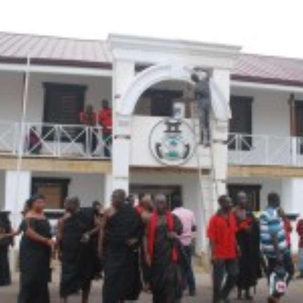 Okuapeman Palace Takes Shape