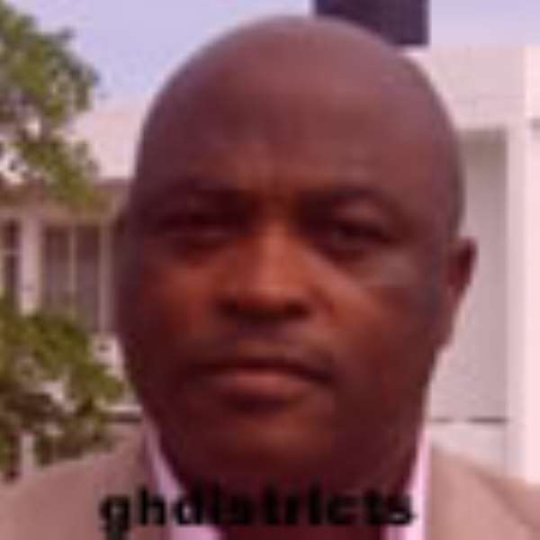 District Chief Executive for Gomoa West, Theophilus Aidoo-Mensah