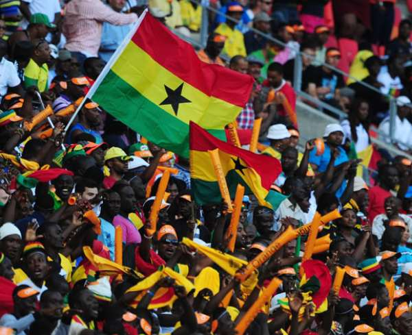 The supporters were in full force last Friday in Ghana's win over Zambia