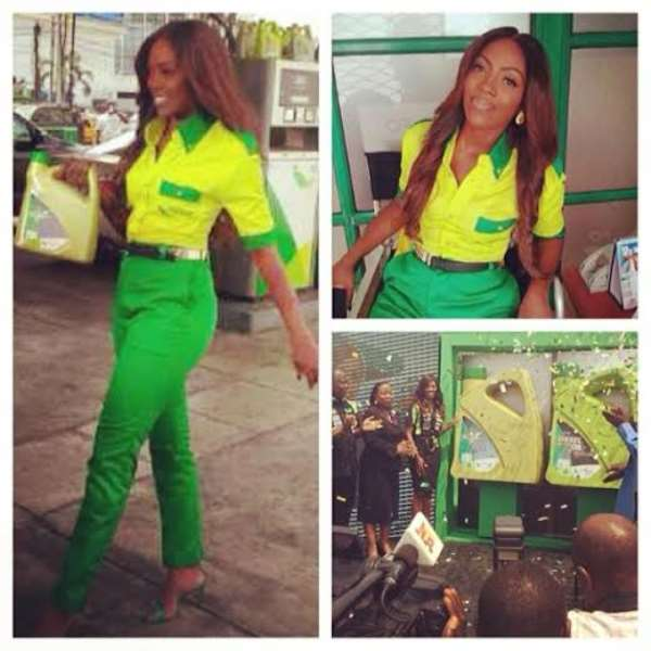 Tiwa Savage Becomes Face Of Forte Oil Plc
