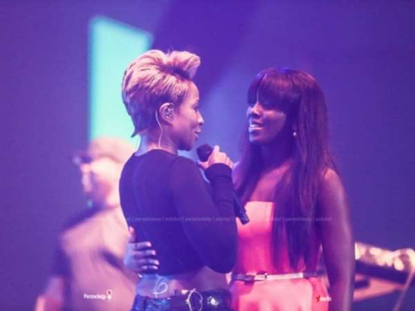 Mary J Blige & Tiwa Savage Reunite @ Sister's With Soul Concert