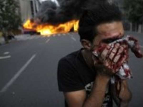 Iran reformists held after street clashes