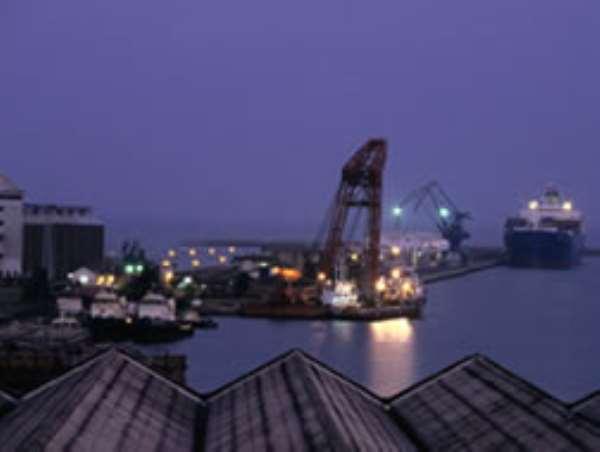 The Takoradi Port