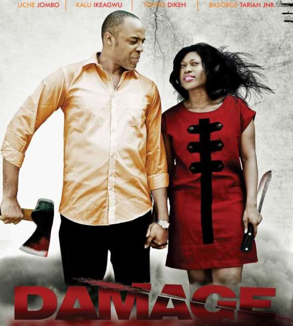 ACTRESS UCHE JOMBO DAZZLES IN NEW MOVIE TITLE DAMAGE