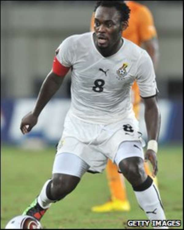 Michael Essien has been ruled out of the Africa Cup of Nations