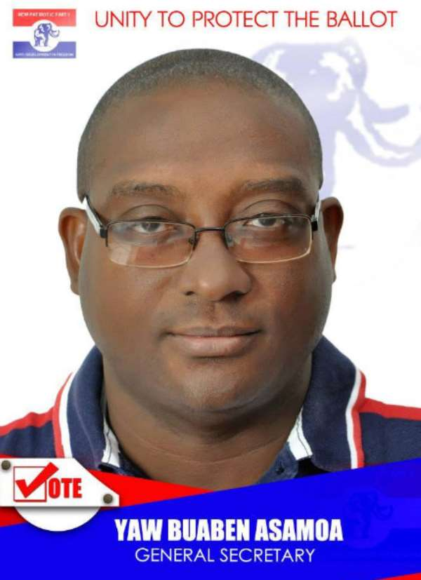 Yaw Buaben Asamoa Accepts Endorsements