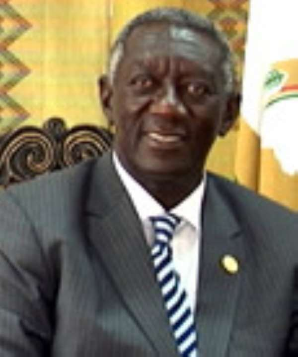 Kufuor appeals to President Mills to ease mounting tension