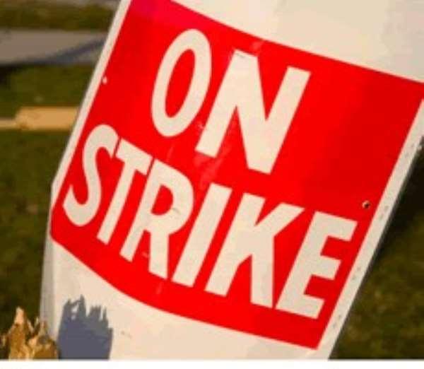 BOST workers on strike