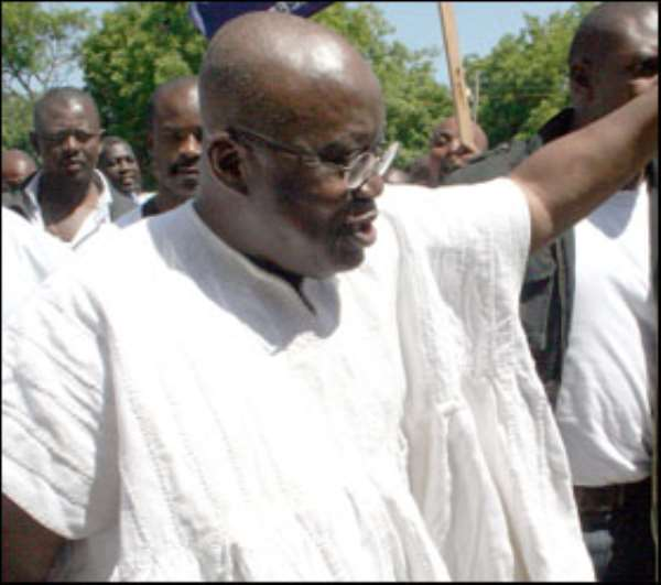 If Ghanaians were to decide 2020 on corruption, I bet, Akufo-Addo will remain in Jubilee House