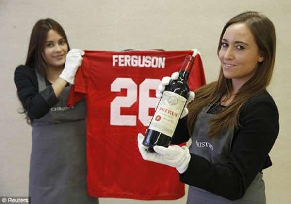 Sir Alex Ferguson to auction £3million vintage wine collection from Man Utd days