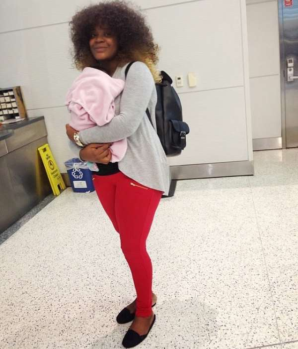 What's Next After Uche Ogbodo's Return To Nigeria With Baby?
