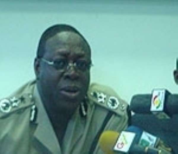 Thirty Liberian Police officers pass out in Ghana