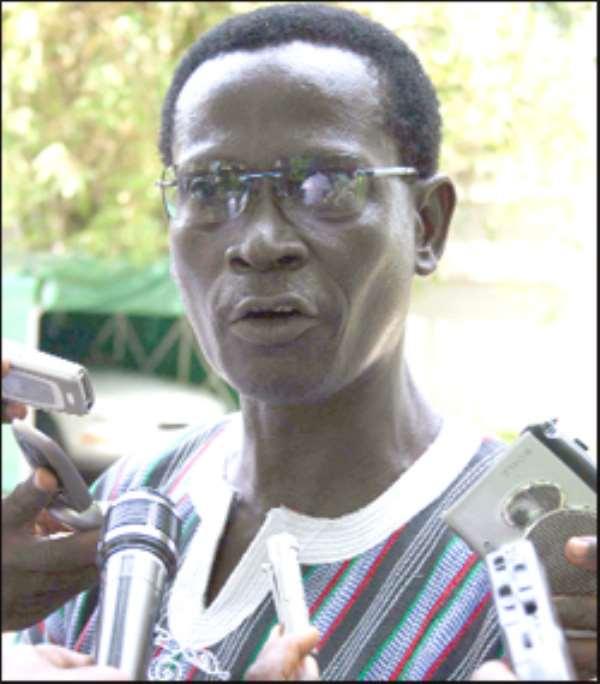 Dr Kwabena Adjei - NDC Chairman