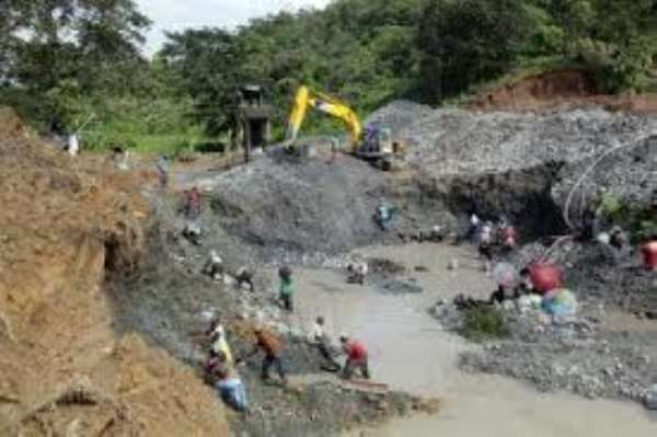 Ghana losing Gh500million to smallscale miners annually