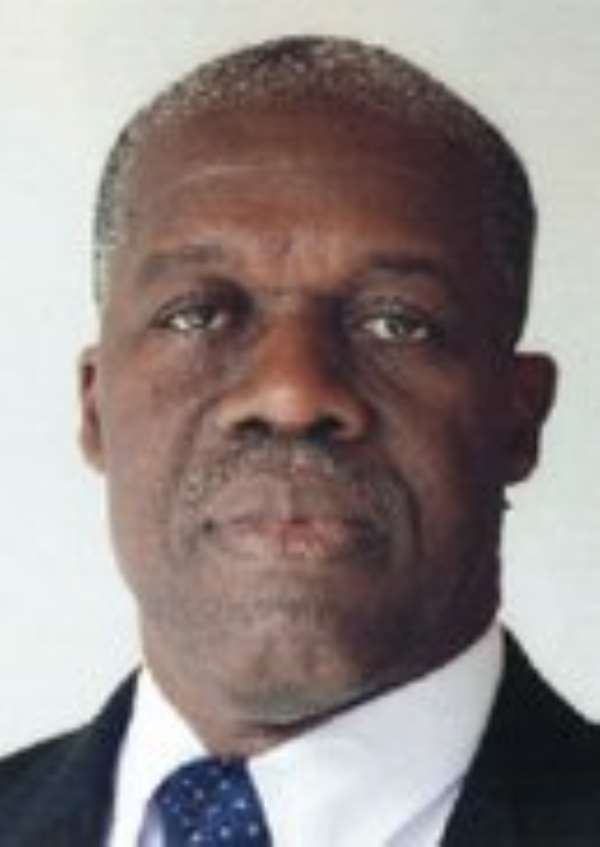 Mr Amissah-Arthur, Governor of BoG