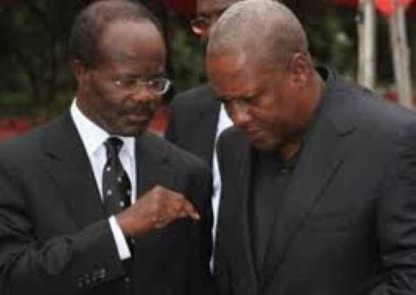 Dr. Ndoum and President Mahama