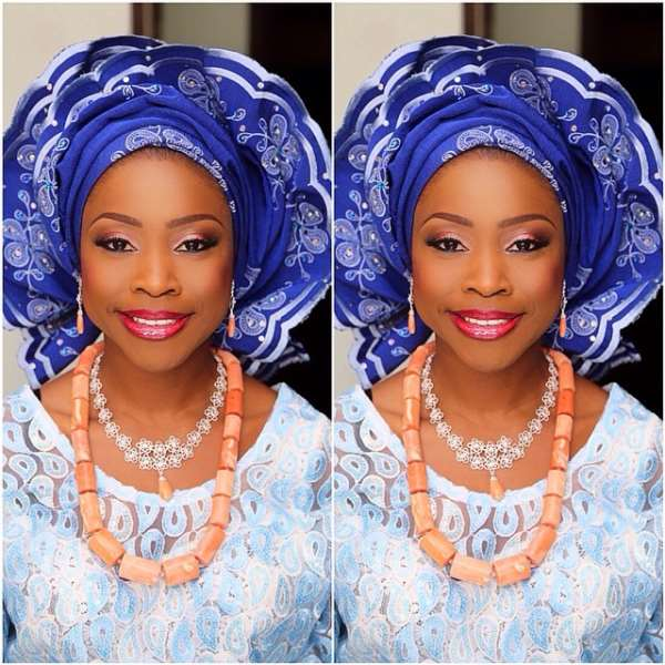 Ex President Olusegun Obasanjo's Daughter Ties The Knot (photos)