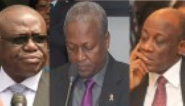 Don't Blame Me For The Free Fall Of Cedi – President