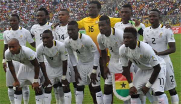 Ghana Draw Togo, Guinea  …In CAN Qualifiers