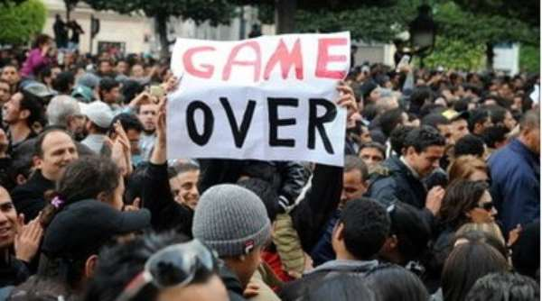 Protests have continued against the deposed leader's political party
