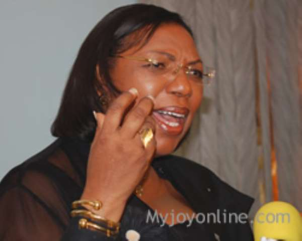 Attorney-General and Minister of Justice, Betty Mould Iddrisu