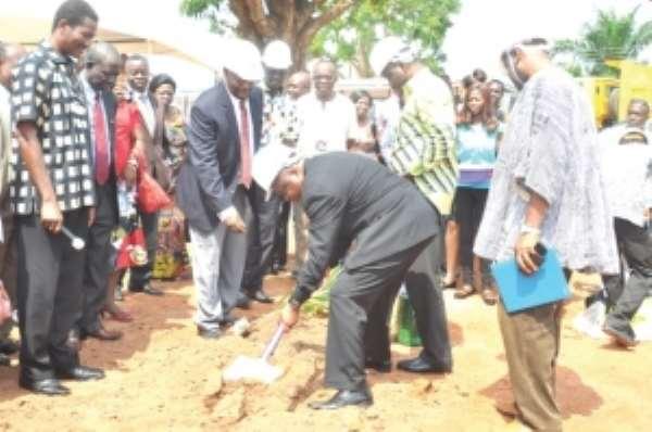 KNUST Veterinary School  to get permanent structures