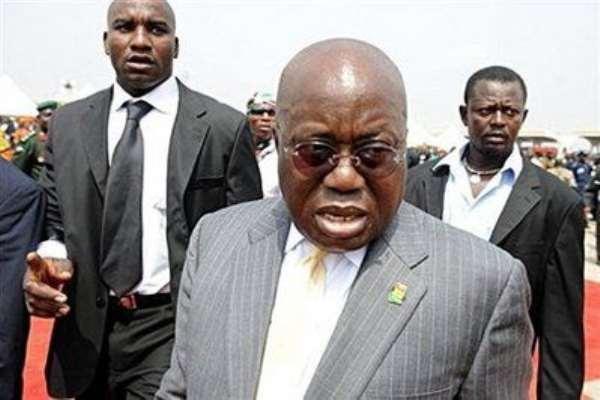 Akufo Addo's Vision for Ghana is All Die Be Die