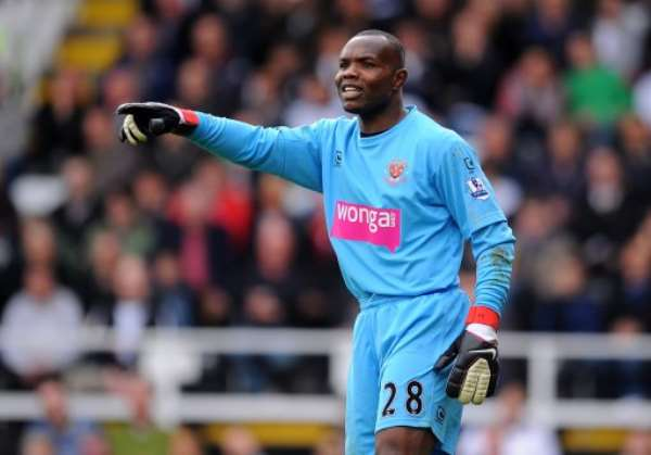 Ex-Ghana goalie Richard Kingson