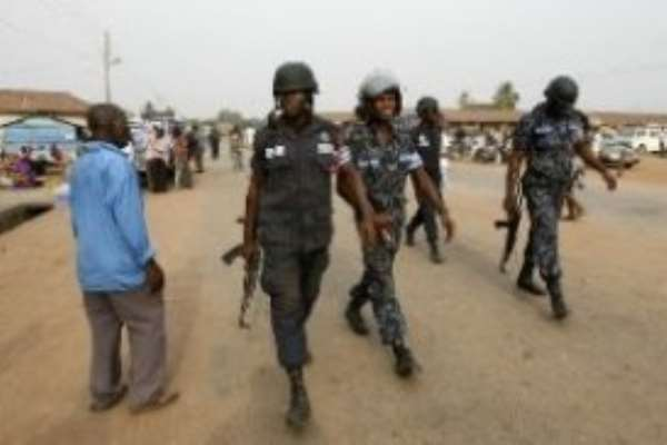 Police Clash With Anlo Residents, one dead, 13 arrested