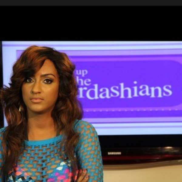 HILARIOUS KIM KARDASHIAN TALKS ABOUT HER VISIT TO NIGERIA  [VIDEO]
