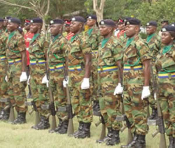 Should Ghanaians Consider A Fourth Armed Service  - To Beef Beef Up And Ensure  Internal Security?