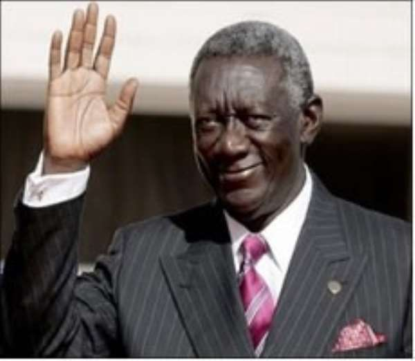 Kufuor supports Senegal to raise CFA9 trillion development funds