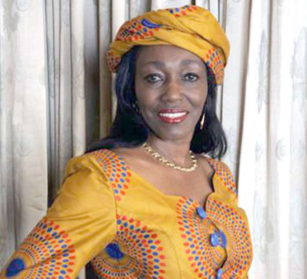 BATTLE READY! Nana Konadu Agyeman Rawlings