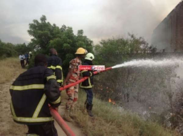 TOR operations not affected by fire