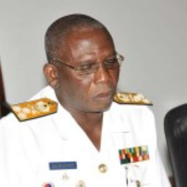 Vice Admiral Mathew Quarshie