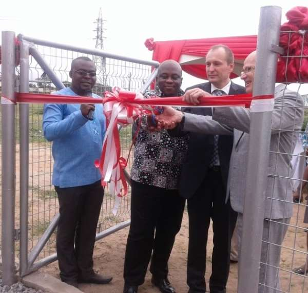 Health Ministry inspects Tema General Hospital Ebola centre