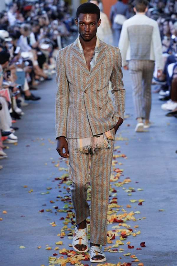 Meet The 1st Nigerian Male Model to Walk The Runways of Milan and Paris