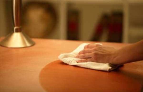 Use electrostatic cloth when dusting