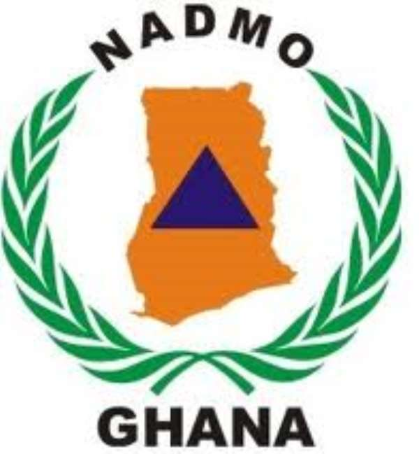 NADMO Presented Assorted Items To Displaced Zongo Community