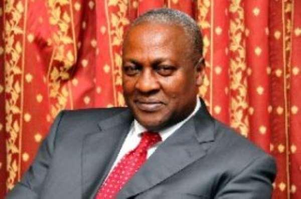 Vice-President John Dramani Mahama