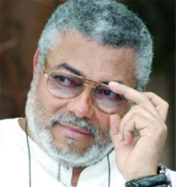 NDC Won 2008 Elections Because Of Truth And Justice - Jerry Rawlings