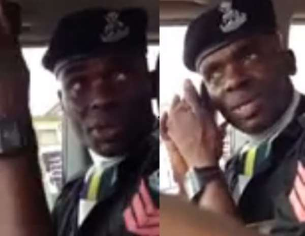 The Policeman Caught on Tape Demanding Bribe Has Been Arrested